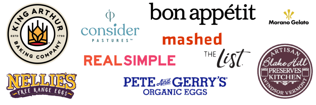 logos of previous business partners