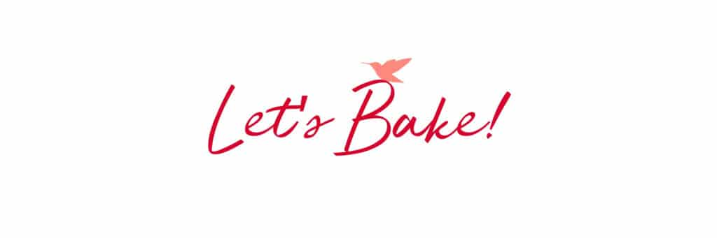 let's bake recipe intro